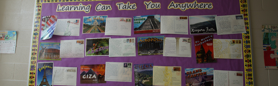 Bulletin Board of Learning in other countries